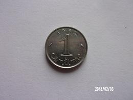 1 Centime - 1962 - KM 928 - France