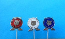 ICE HOCKEY CLUB MEDVESCAK ( KHL - Kontinental Hockey League ) Lot 3. Enamel Pins Badges Sur Glace Eishockey Su Ghiaccio - Hockey - Minors (Ligue Mineure)