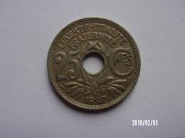 25 Centimes - Lindauer - 1917 - KM 867a - France