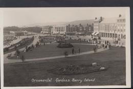 Wales Postcard - Ornamental Gardens, Barry Island  DC1388 - Glamorgan