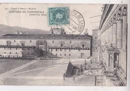 Carte Postale :Santiago De Compostela  (Espagne)   Hospital Real        1908     Hauser Y Menet Madrid - Santiago De Compostela