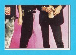 GUNS 'N' ROSES  ... Yugoslavian Old Rare Collectiable Card - Sticker Smash Hits ** Hard Rock Music Musique Musica Musik - Altri