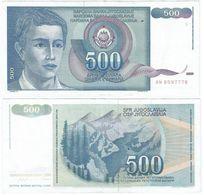 Yugoslavia 500 Dinara 1990 Pick 106 Ref 1498 - Yugoslavia