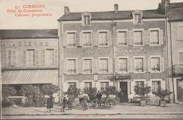 Corbigny- Hotel Du Commerce, Cahouet, Propriétaire - Corbigny