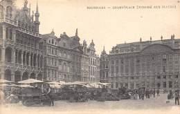 BRUXELLES - Grand'Place (Marché Aux Fleurs) - Marchés