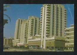United Arab Emirates UAE Abu Dhabi Picture Postcard Hamdan Center Abu Dhabi View Card U A E Some Crease - Dubai