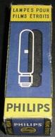 Rare Lampe PHILIPS BA 15 S, Neuve En Boite 120v 300W Lampes Pour Films étroits - Tubes
