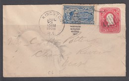 USA 1908 10c Special Delivery On Stationery Envelope - United States