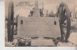 Redipuglia Gorizia Cimitero Militare Agli Invitti  Armata No Vg - Gorizia