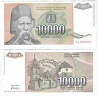 Yugoslavia Yugoslavia 10.000 Dinara 1993 Pick 129 Ref 1507 - Yugoslavia