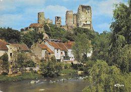03 Hérisson L'Aumance Et Les Ruines Du Vieux Château (2 Scans) - France