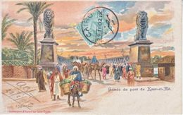 EGYPT   POSTAL CARD  1902  CAIRO - 1866-1914 Khedivate Of Egypt