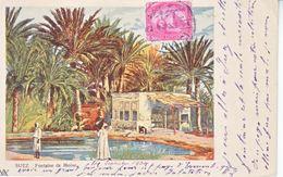 EGYPT   POSTAL CARD  1904  TO  FRANCE - 1866-1914 Khedivate Of Egypt