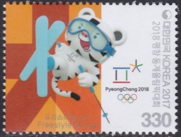 South Korea KPCC2590 2018 PyeongChang Winter Olympics, Freestyle Ski, Jeux Olympiques - Winter 2018: Pyeongchang