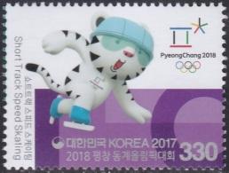 South Korea KPCC2596 2018 PyeongChang Winter Olympics, Short Track Speed Skating, Jeux Olympiques - Winter 2018: Pyeongchang