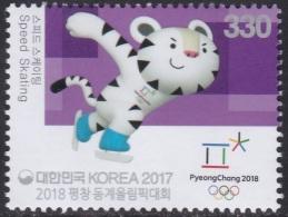 South Korea KPCC2600 2018 PyeongChang Winter Olympics, Speed Skating, Jeux Olympiques - Winter 2018: Pyeongchang