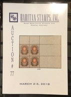 Raritan Catalog Up Coming Auction #77,Mar 2-3,2017,Rare Russia,Errors & Worldwide Rarities - Catalogues For Auction Houses