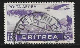 Eritrea, Scott # C12 Used Plowing, 1936 - Eritrea