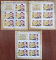 Russia, 2016, Mi. 2297-99, Sc. 7715-17, Heroes Of The Russian Federation, MNH - 1992-.... Federazione