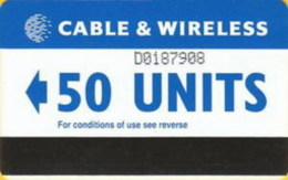 DIEGOGAR : DGA06 50 Units Blue (new CW Logo) USED - Diego-Garcia