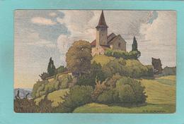 Small Postcard Of Kirche,Büsingen,By Ernst Schlatter, Baden-Württemberg, Germany,Q85. - Germany