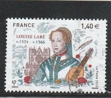 FRANCE 2016 LOUISE LABE OBLITERE YT 5062 - Francia