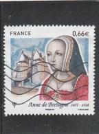 FRANCE 2014 ANNE DE BRETAGNE OBLITERE YT 4834  - - France