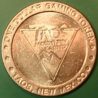 $1 Casino Token. Taos Mountain, Taos, NM. J46. - Casino