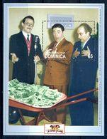A38- Dominica Miniature Sheet. The Three Stooges. - Dominican Republic