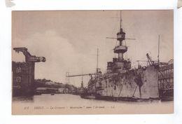 29 BREST Croiseur Montcalm Dans L'arsenal Pont Transbordeur - Brest