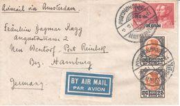 1013  BRIEF  SIAM  -HAMBURG  1932 - Siam