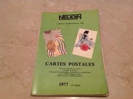 Catalogue NEUDIN 1977 Cartes Postales - Books
