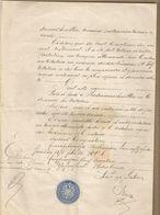 A MULHOUSE EN 1872 : TESTAMENT D UN HABITANT DE NIEDERMORSCHWILLER - Manuscripts
