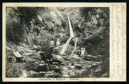 VALLAROVINA Di Bassano - Cascata - Viaggiata In Busta 1918 - Rif.  01779 - Altre Città