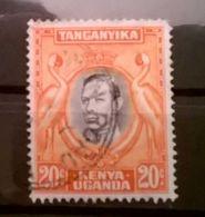 FRANCOBOLLI STAMPS UGANDA KENYA 1938 RE GIORGIO VI - Uganda (1962-...)