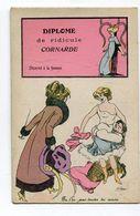 CPA   Illustrateur  : SAGER Xavier     Diplôme De Cornarde Editeur : BG Paris 906    VOIR  DESCRIPTIF  §§§ - Sager, Xavier