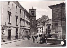 MISTRETTA MESSINA VIA LIBERTA' VIAGGIATA NEL 1962 - Messina