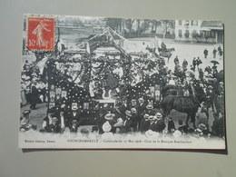 NIEVRE FOURCHAMBAULT CAVALCADE DU 17 MAI 1908 CHAR DE LA MUSIQUE BOUCHACOURT - Frankreich
