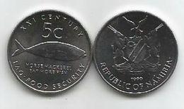Namibia 5 Cents 1999. UNC FAO - Namibia