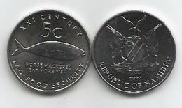 Namibia 5 Cents 1999. UNC FAO KM#16 - Namibie