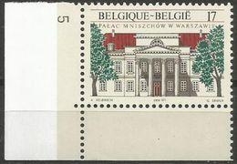 Belgium - 1998 Mniszech Palace MNH **    Sc 1706 - Unused Stamps