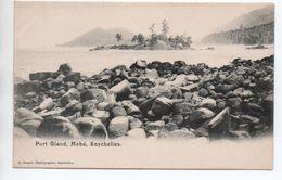 MAHE (SEYCHELLES) - PORT GLAND - Seychelles