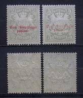 AD - Bayern Porto Mi.Nr.13,11 ** Postfrisch     (K201) - Bavaria