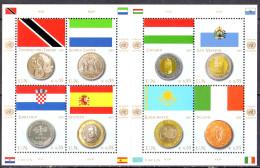 NATIONS UNIES (Vienne) - Drapeaux Et Monnaies 2007 - Ungebraucht