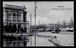 BERGAMO - Sentierone E Teatro Donizetti - Non Viaggiata -  Rif. 10845 - Bergamo
