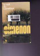 G Simenon - La Nuit Du Carrefour - Maigret - Le Livre De Poche - BE - Livres, BD, Revues