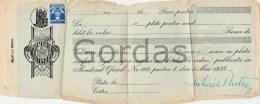 Romania - Bilet La Ordin - Cheques & Traveler's Cheques