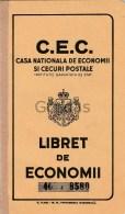 Romania - 1947 - Carnet CEC - Cheques & Traveler's Cheques