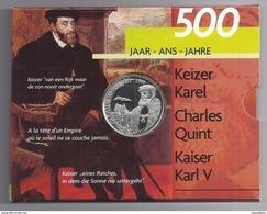 BELGIE - BELGIQUE 500 Frank / 500 Franc  Keizer Karel  PROOF-QUALITY In Blister 2000 - 08. 500 & 5000 Francs