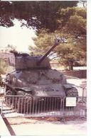 """PHOTO D'ARCHIVES :  CHAR """" SUPER SHERMAN M4 A1 E8 """"  CANON 76mm ( TOULON ) - Matériel"""